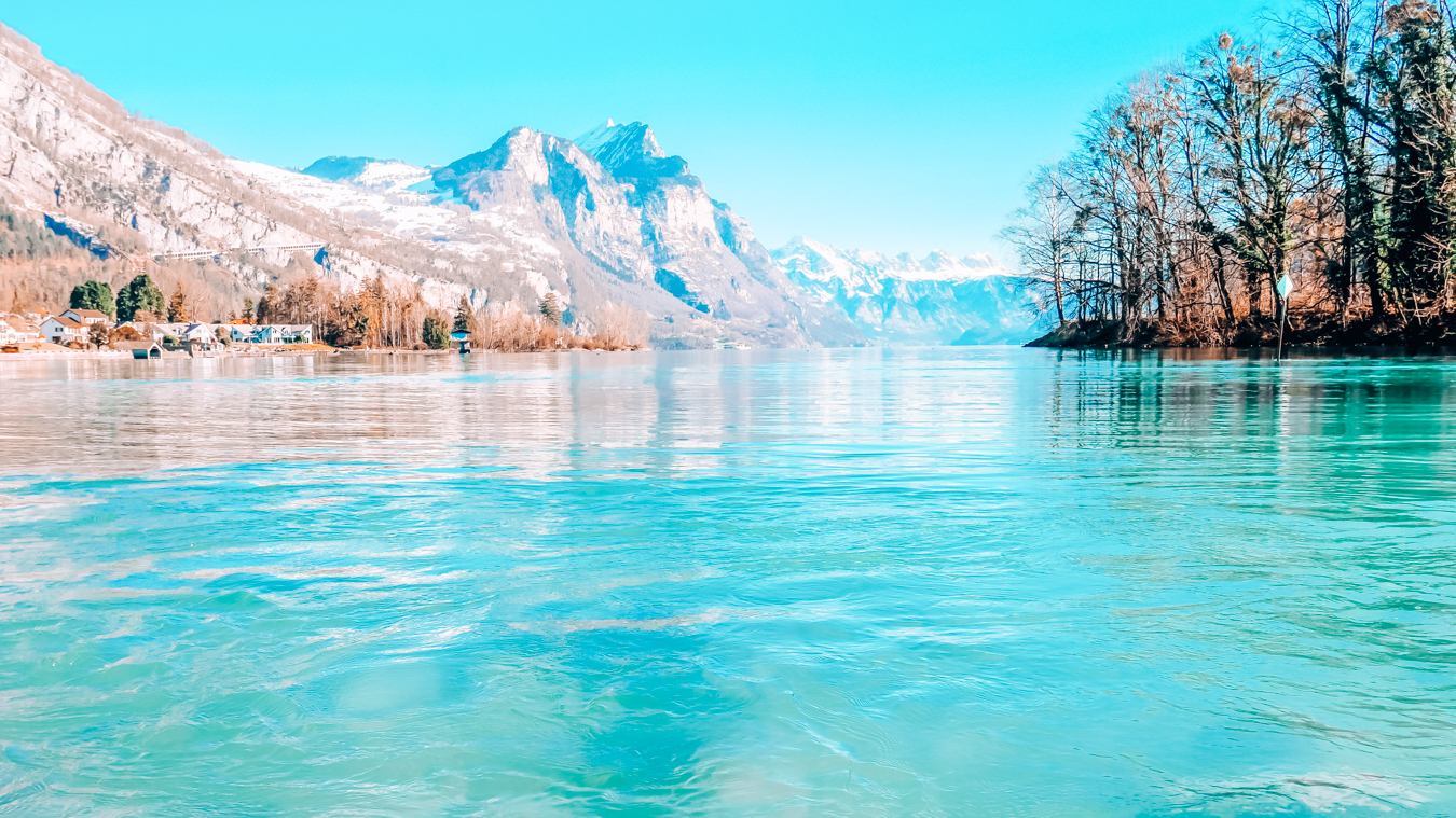 Blue water at Walensee