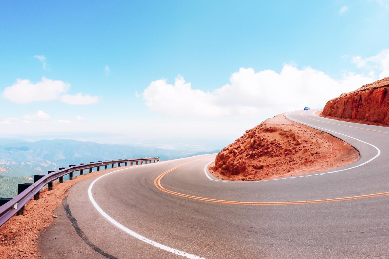 Road at Colorado Springs
