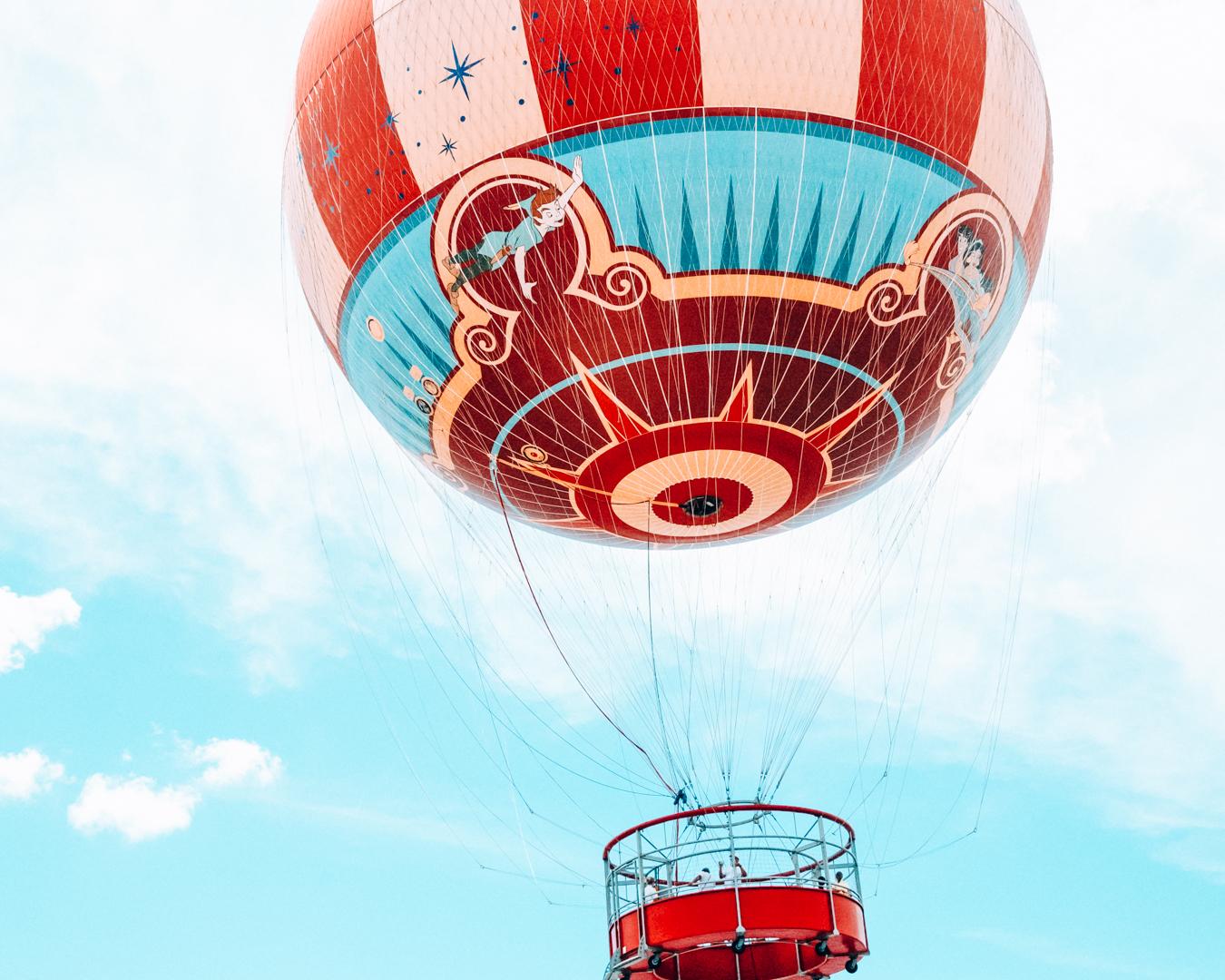 Hot air balloon at Disney Springs in Orlando
