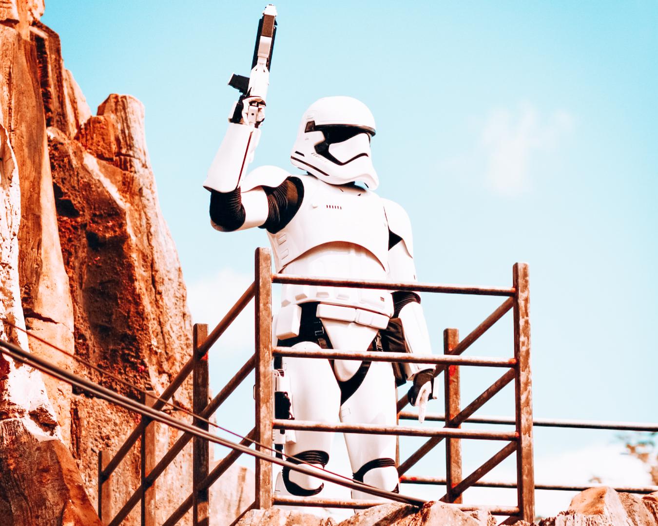 Storm trooper at Disney's Hollywood Studios
