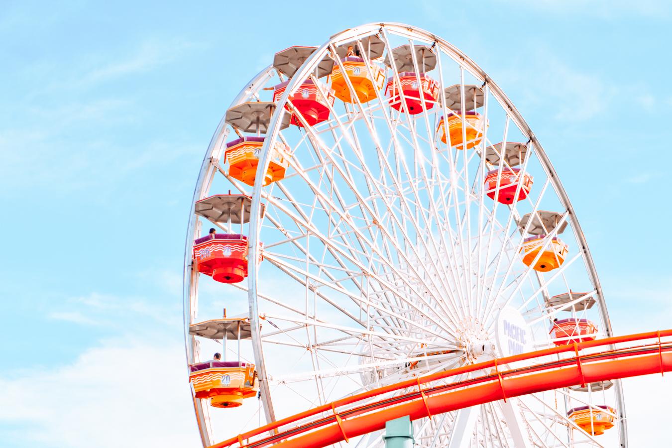 Ferris Wheel in Los Angeles