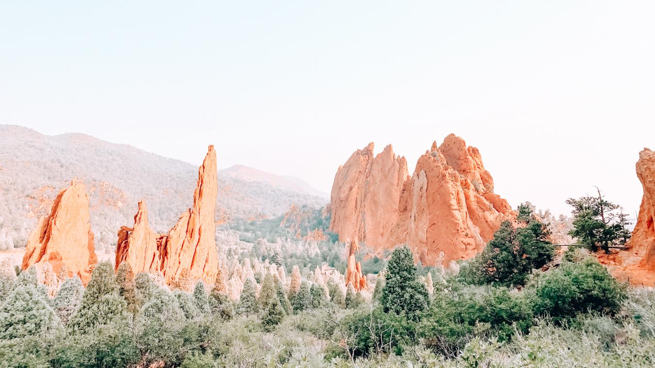 Garden of the Gods at Colorado Springs
