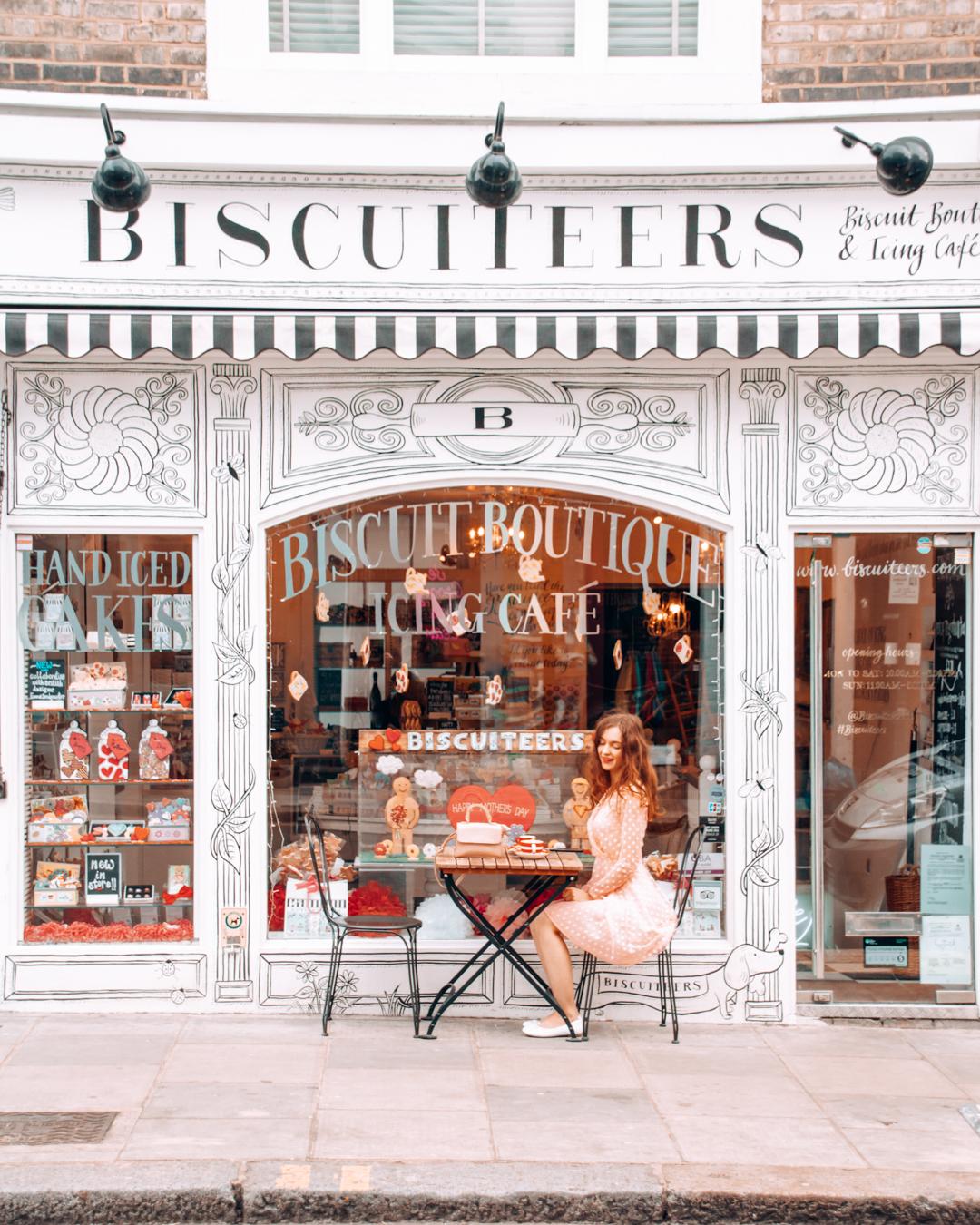 Instagrammable Biscuiteers in London