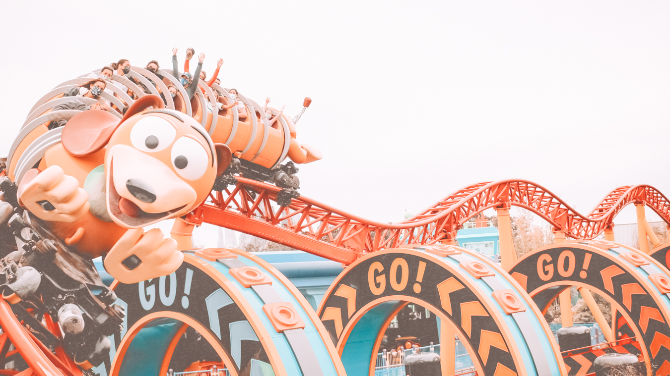 Toy Story roller coaster