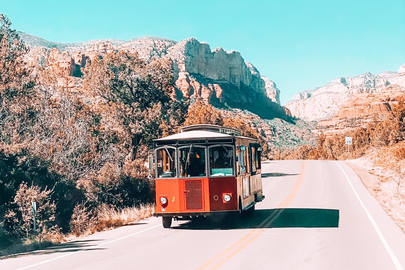 Car in Sedona