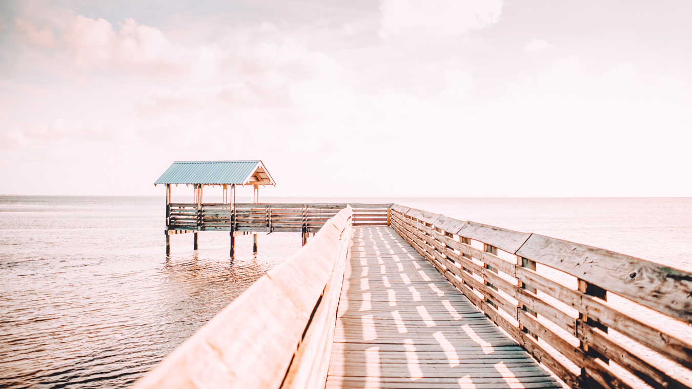 Pier in South Padre Island