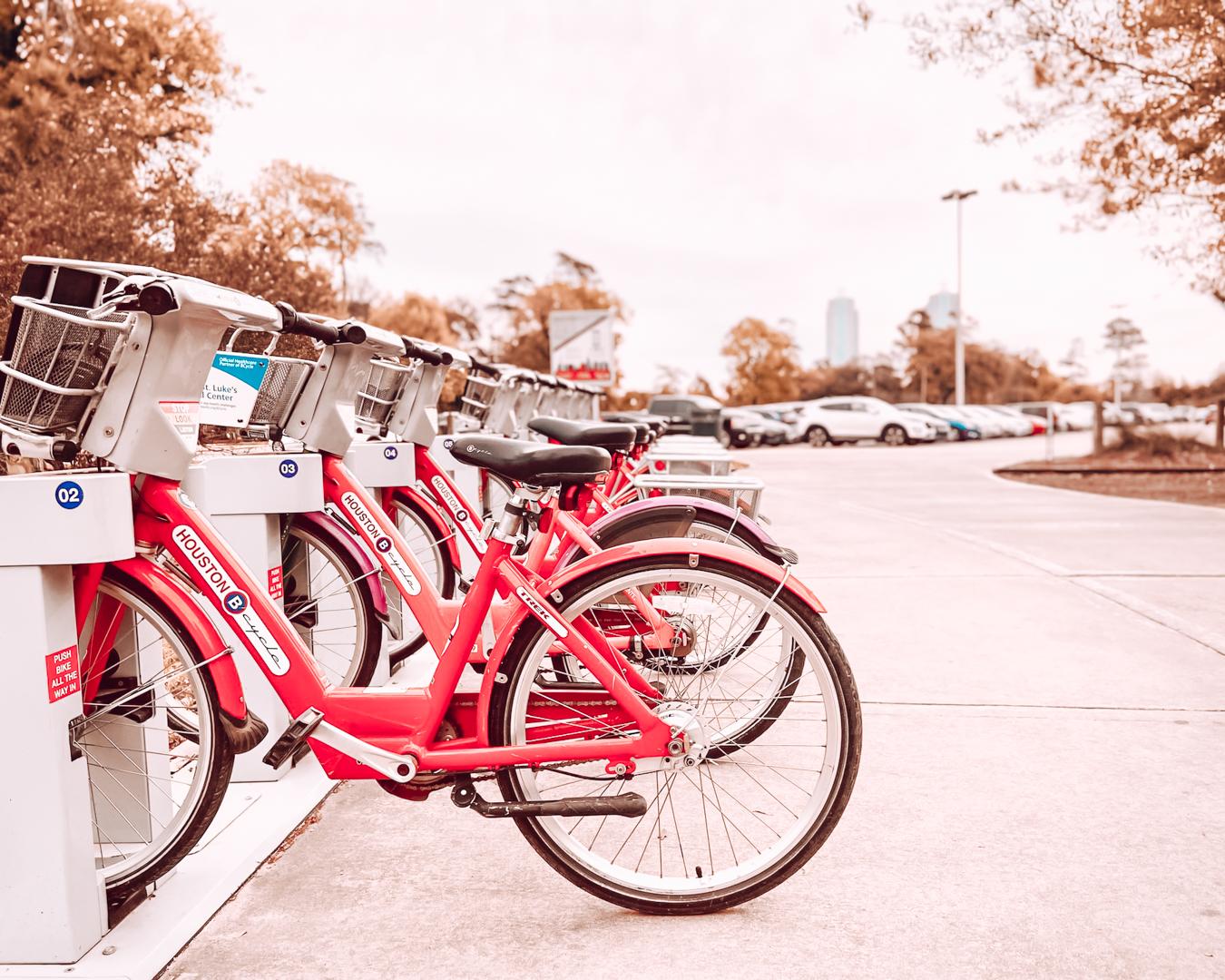 Bikes in Houston