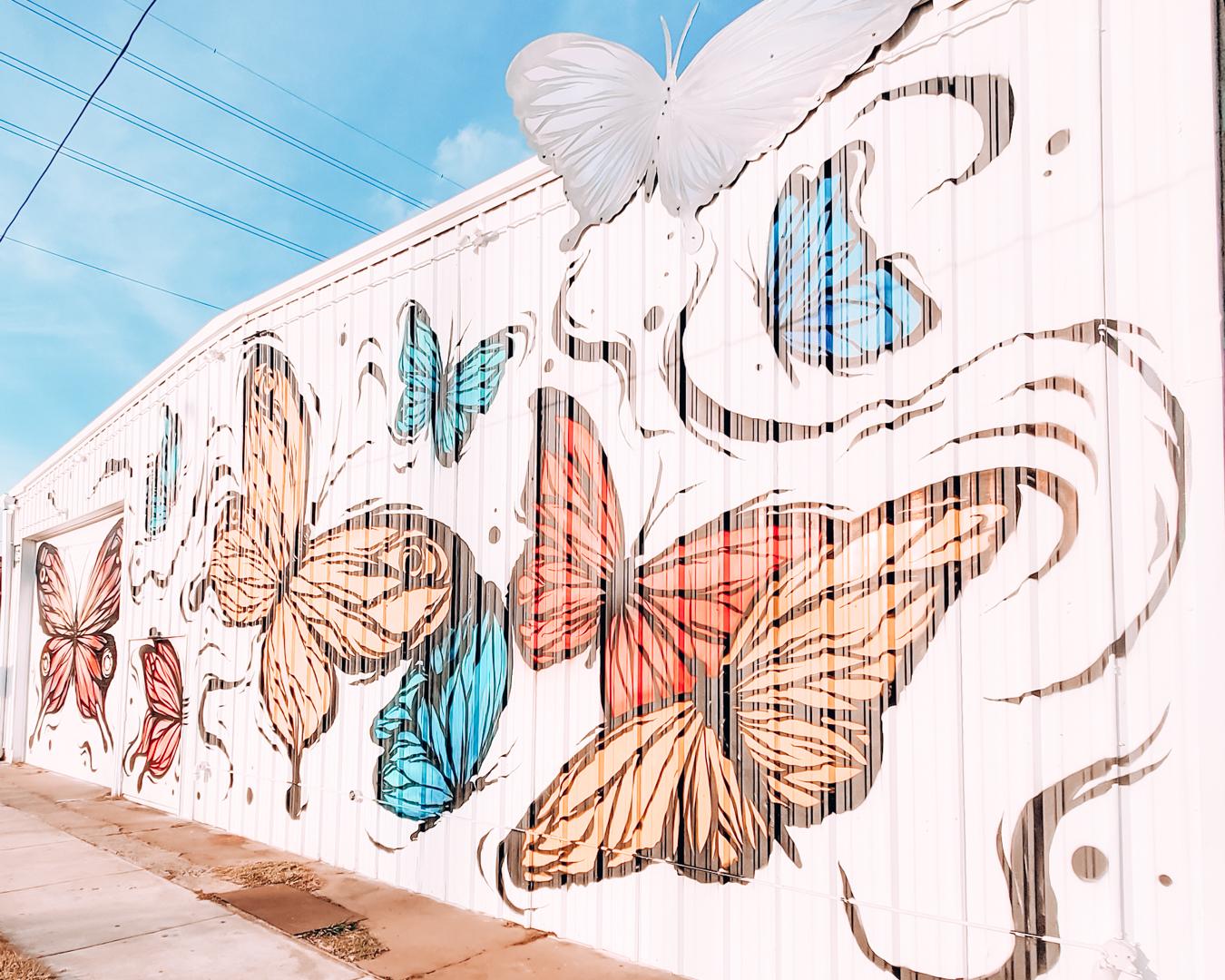 Mural in Houston