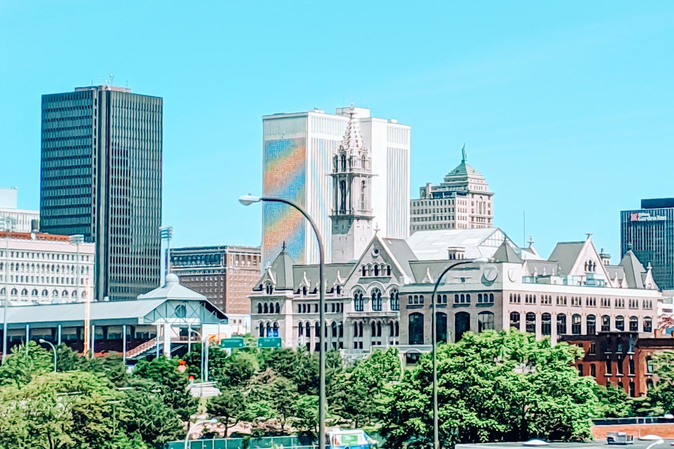 Buildings in Buffalo