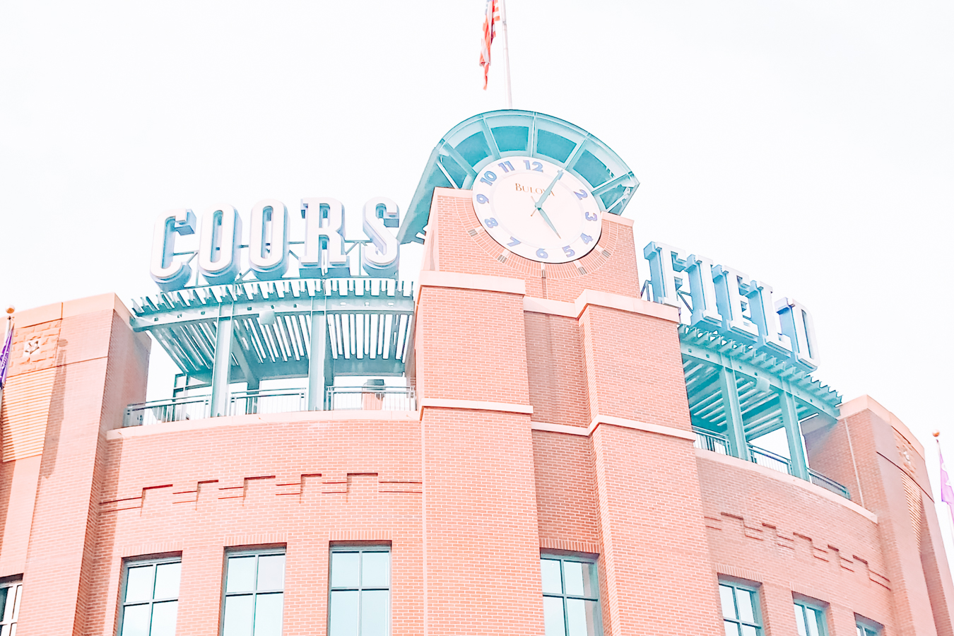 Coors Field from the outside