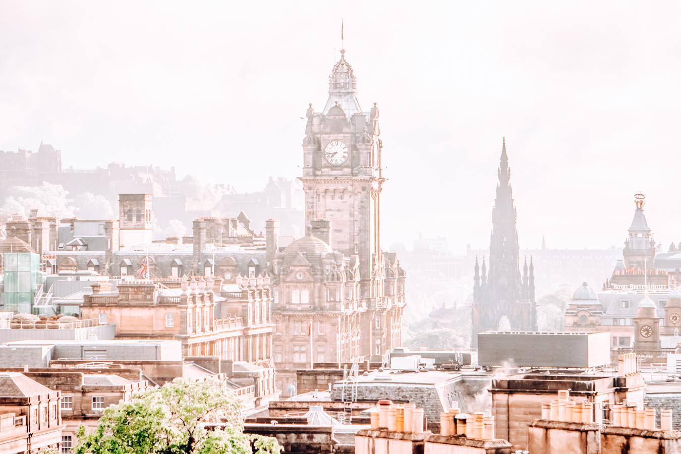 Buildings in Edinburgh