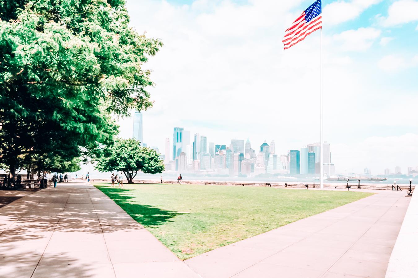 Ellis Island in Jersey City