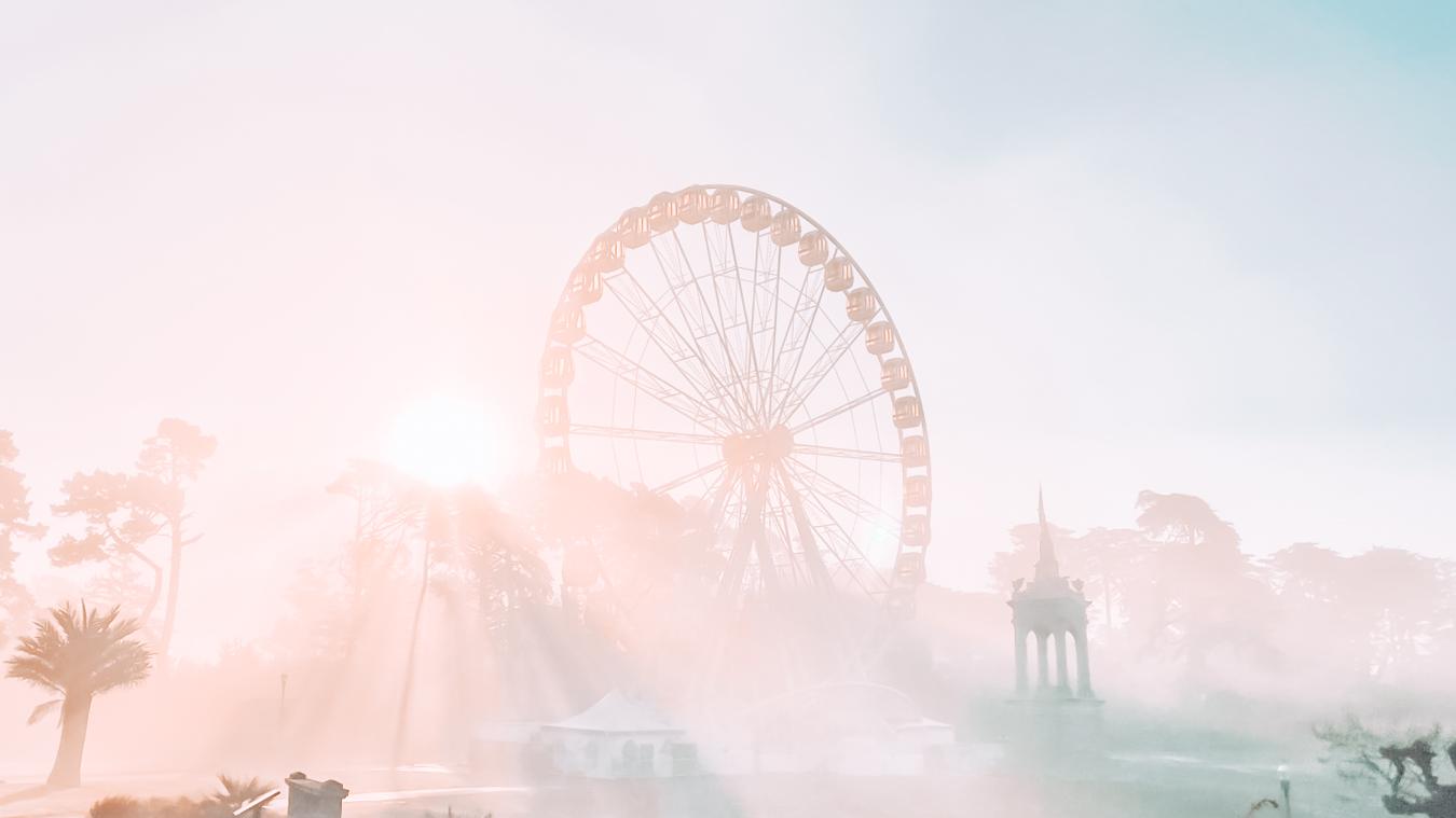 Ferris Wheel in Golden Gate Park