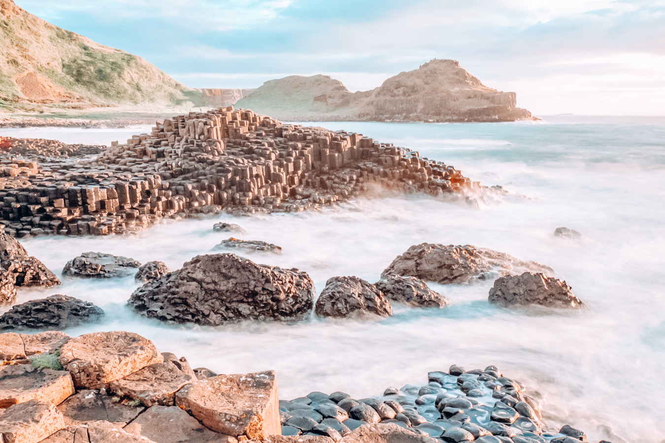 A view of Giants Causeway