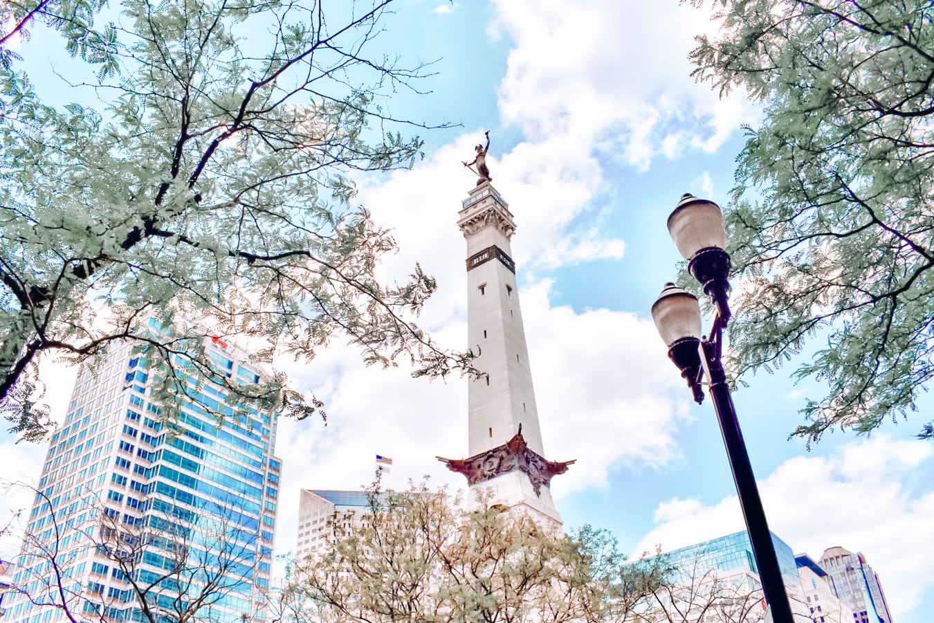 Monument in Indianapolis