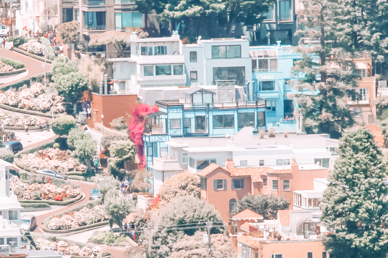 Instagrammable houses in San Francisco