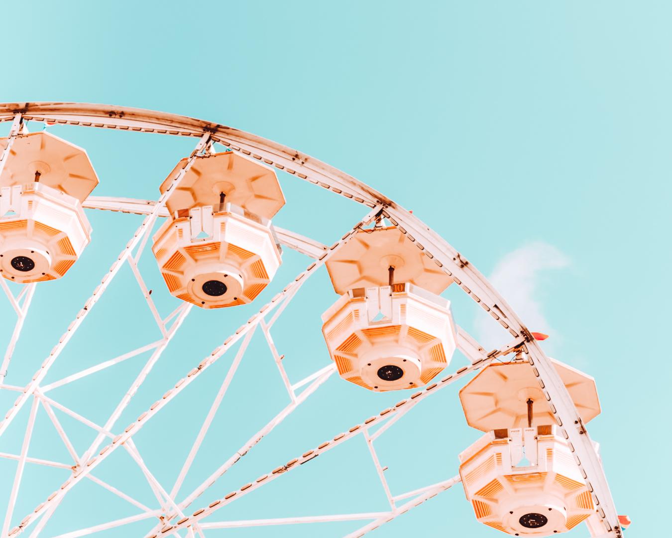 Ferris wheel at Marion County Fair