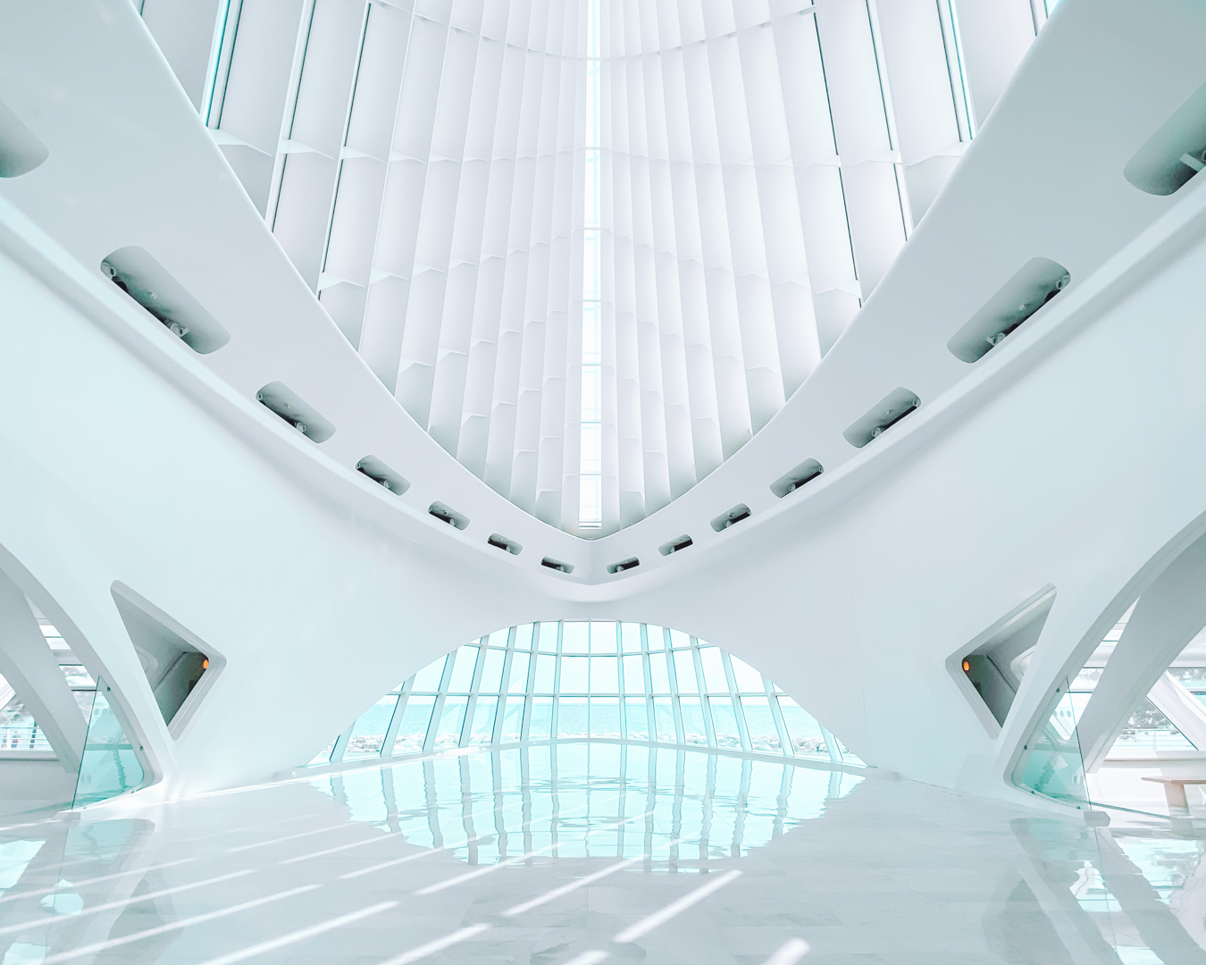 Milwaukee Art Museum from the inside