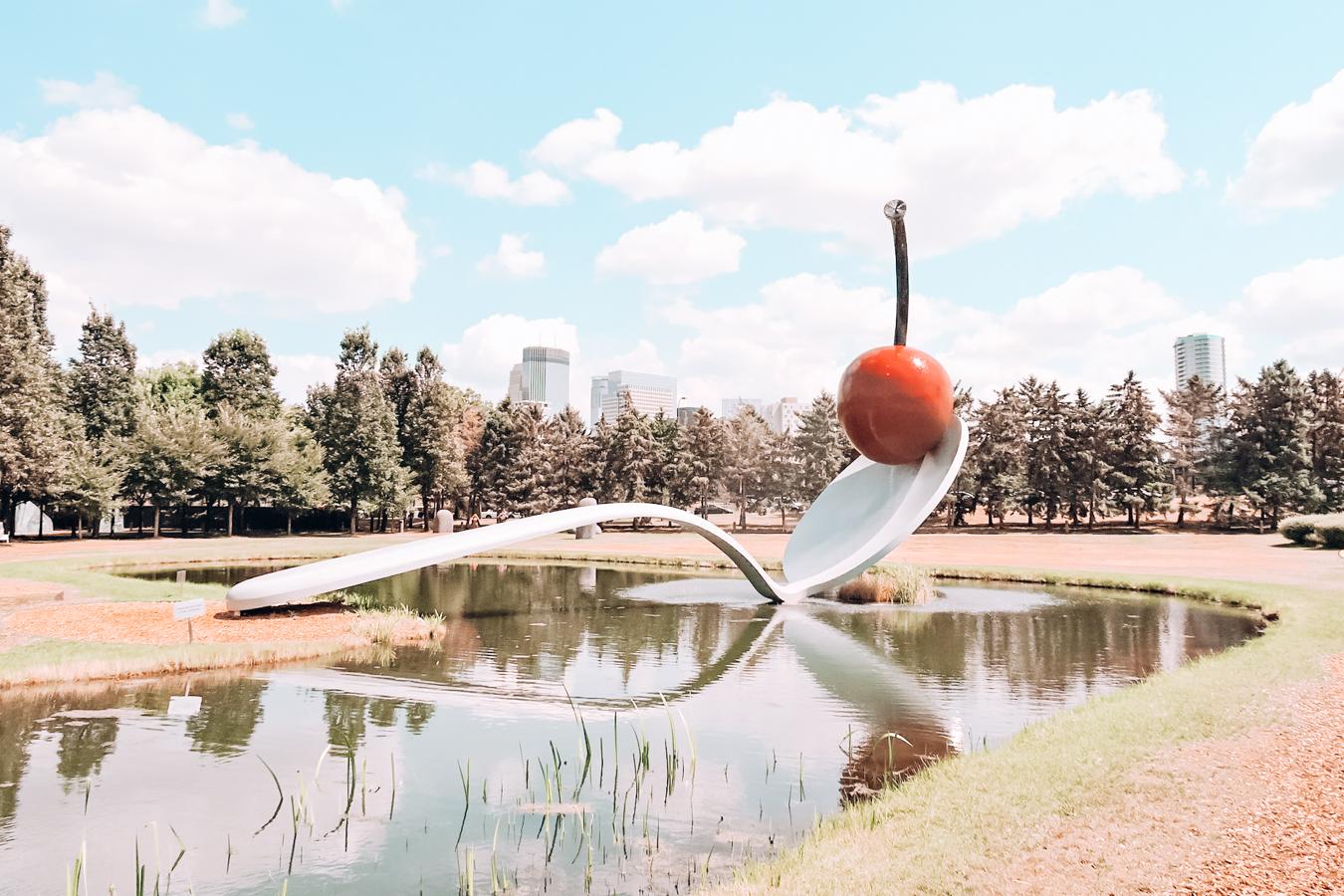 Sculpture at Minneapolis Sculpture Garden
