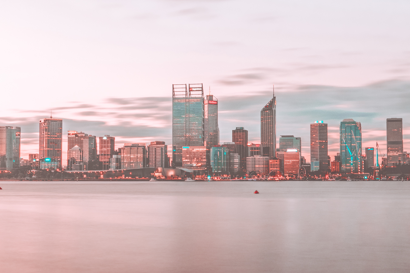 Perth in the evening