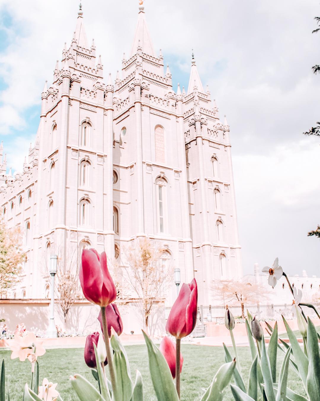 Salt Lake Temple on Temple Square