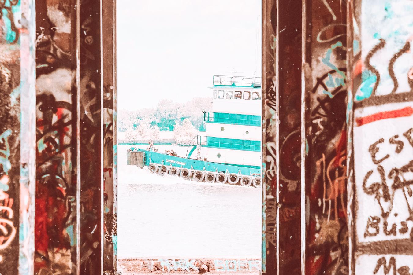 Instagrammable graffiti in Philadelphia