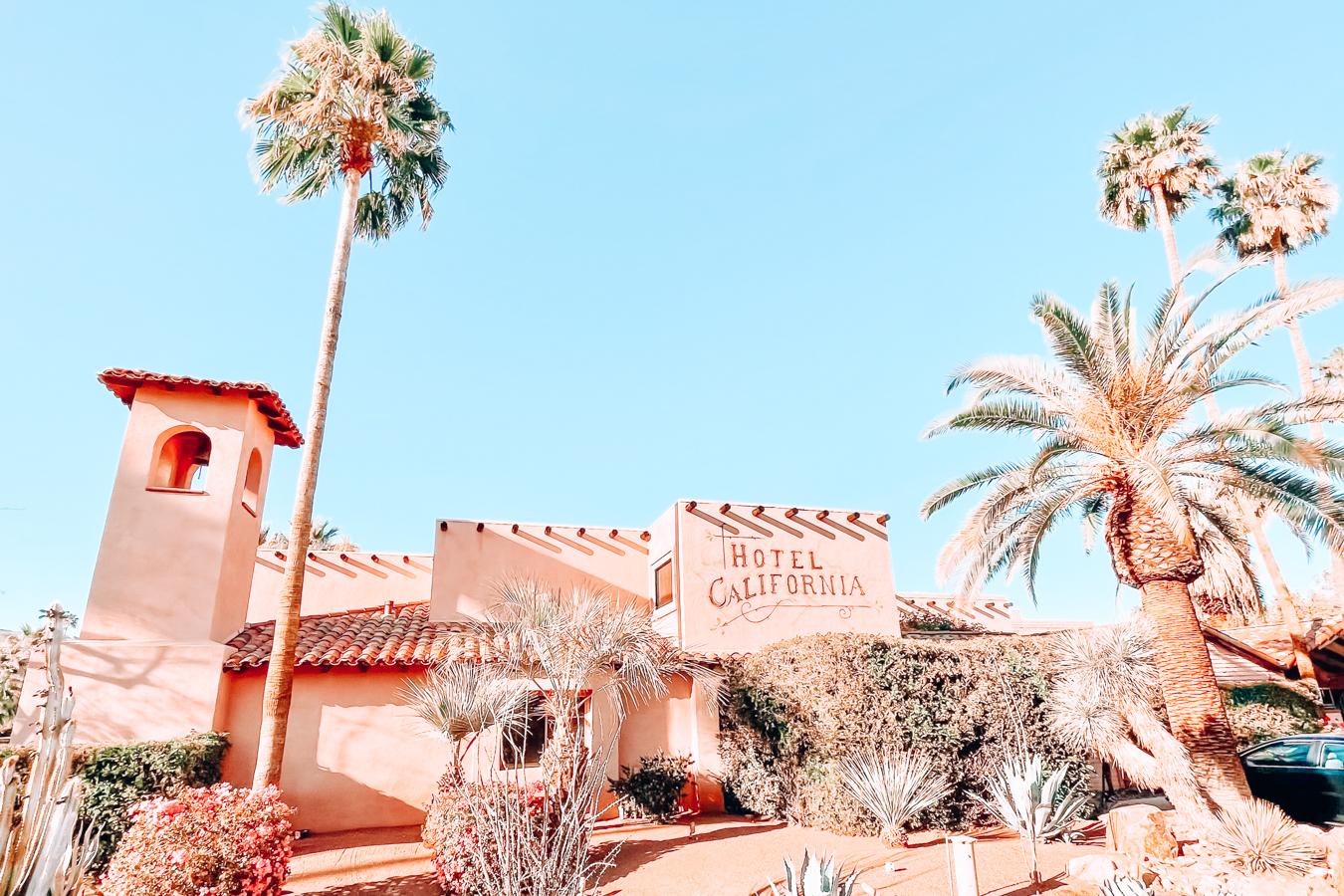 Hotel California in Palm Springs