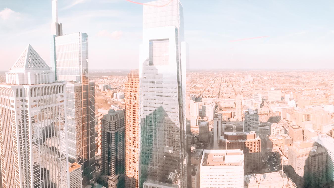 View from One Liberty Philadelphia