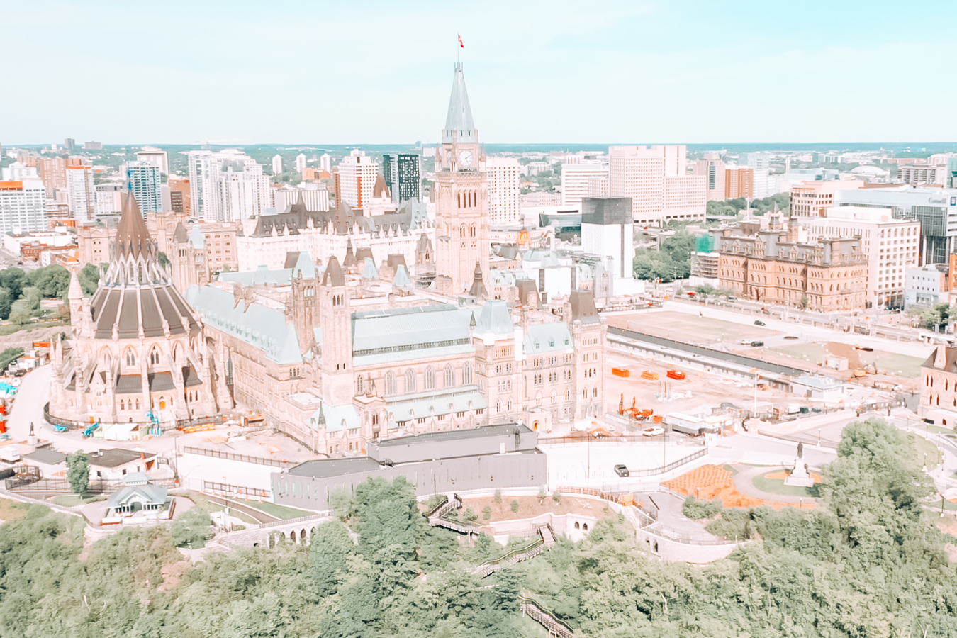 View of buildings in Ottawa