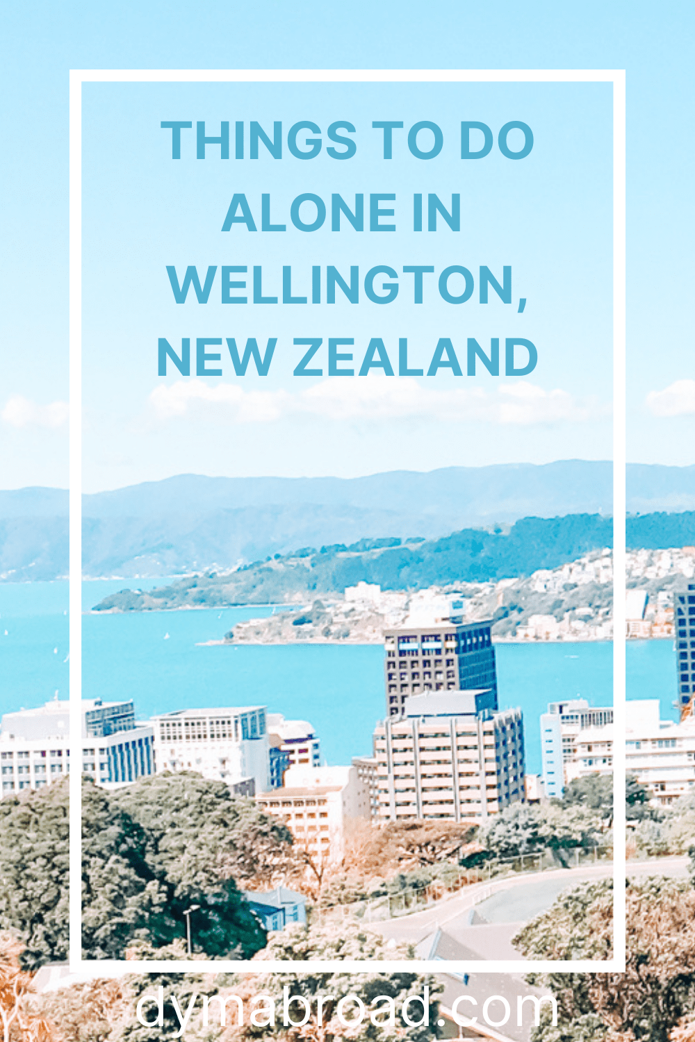 Things to do alone in Wellington Pinterest image
