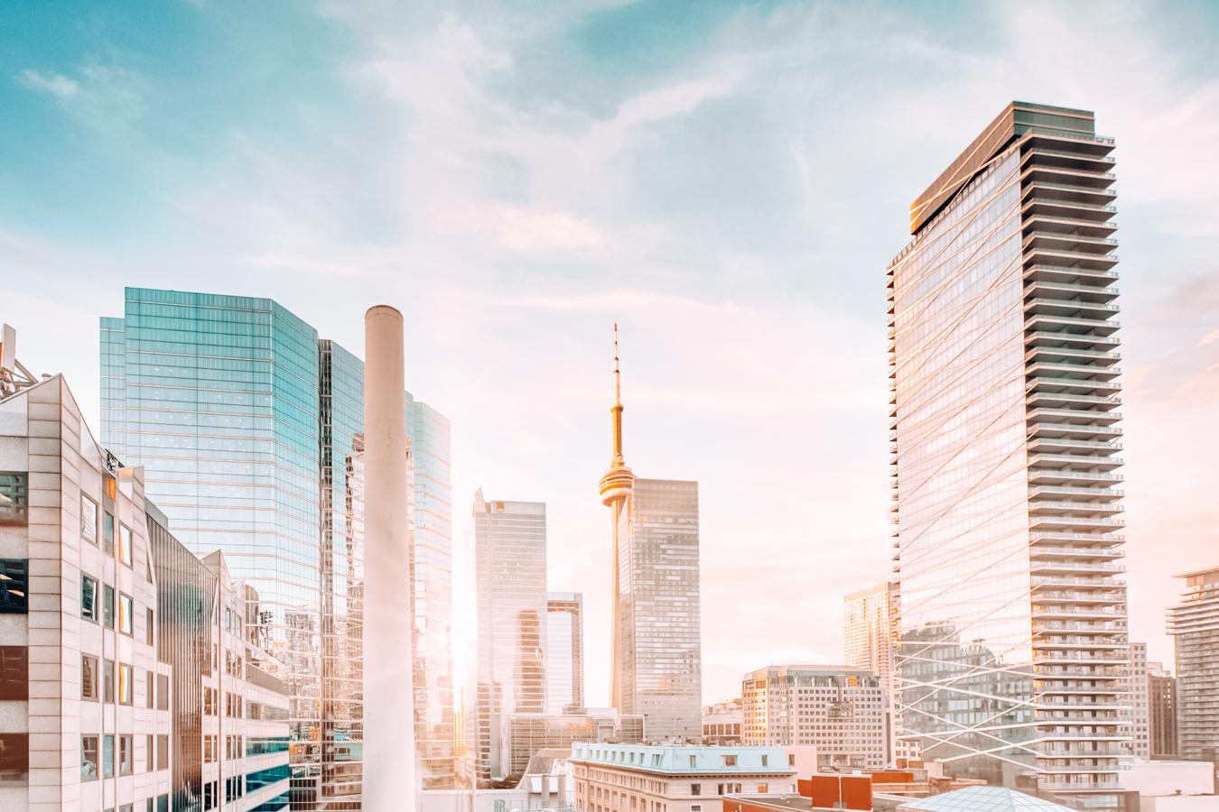 Buildings in Toronto