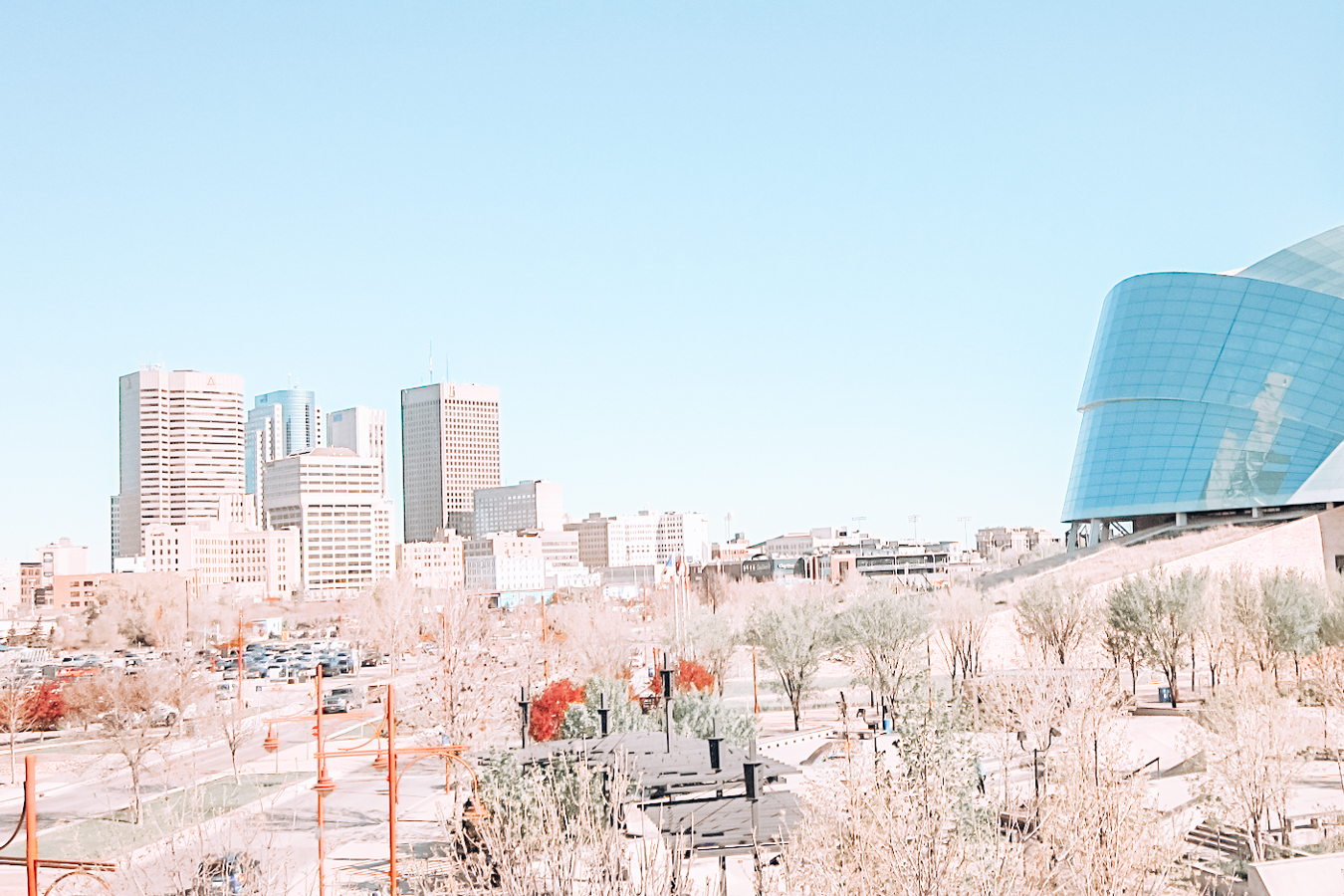 View of Winnipeg