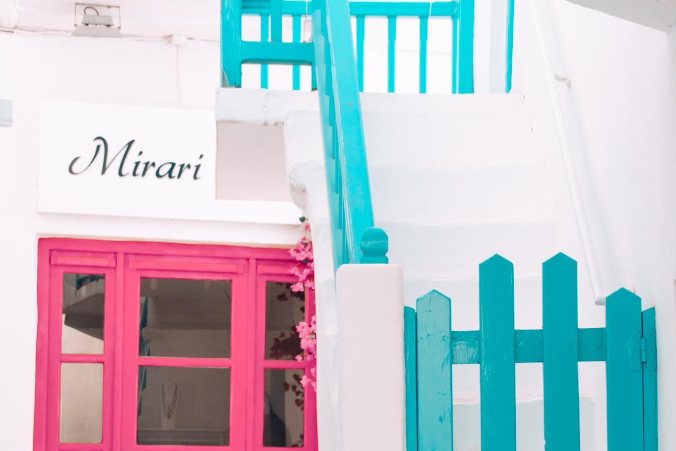 Shop in Mykonos
