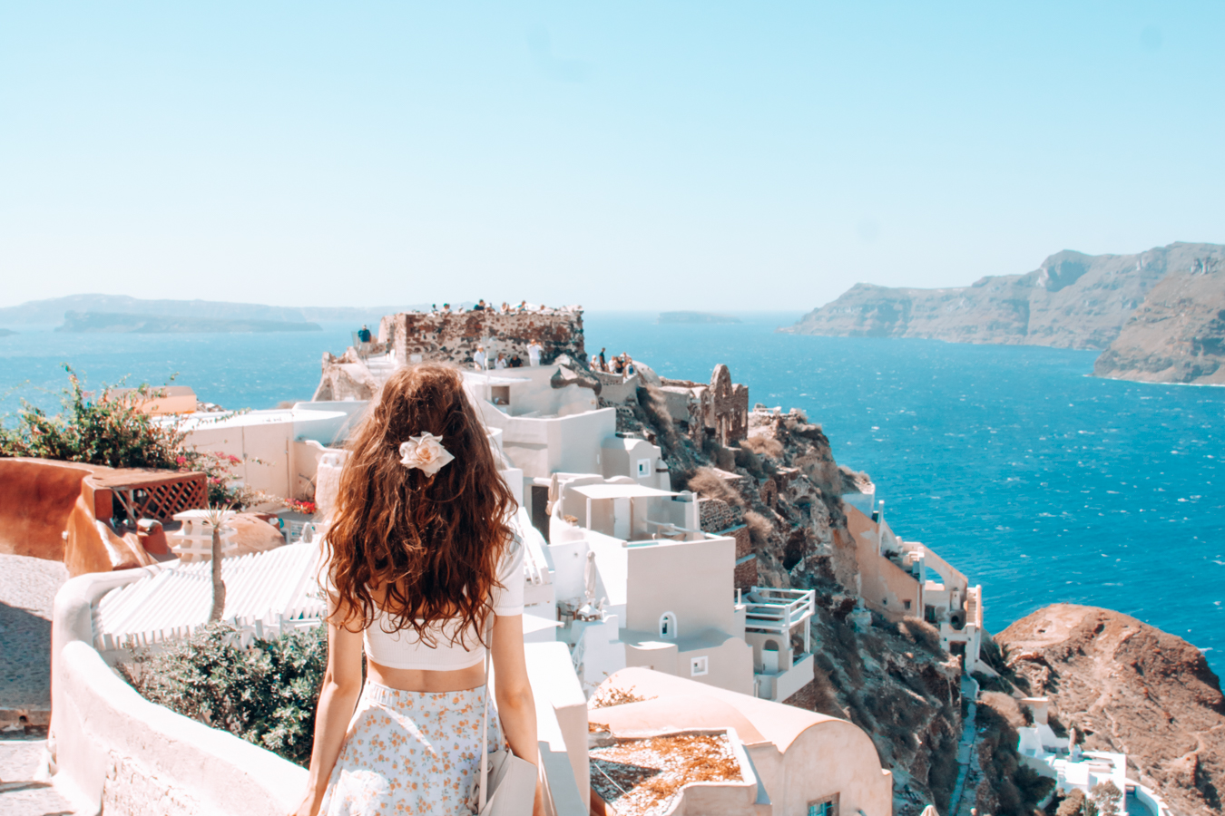 View of Oia Castle