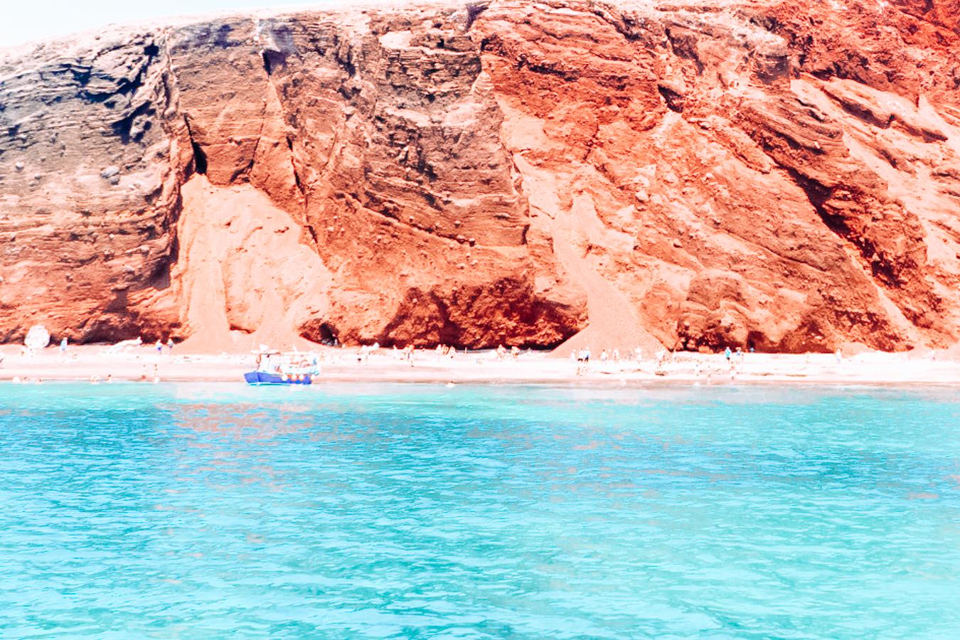 Beach in Santorini