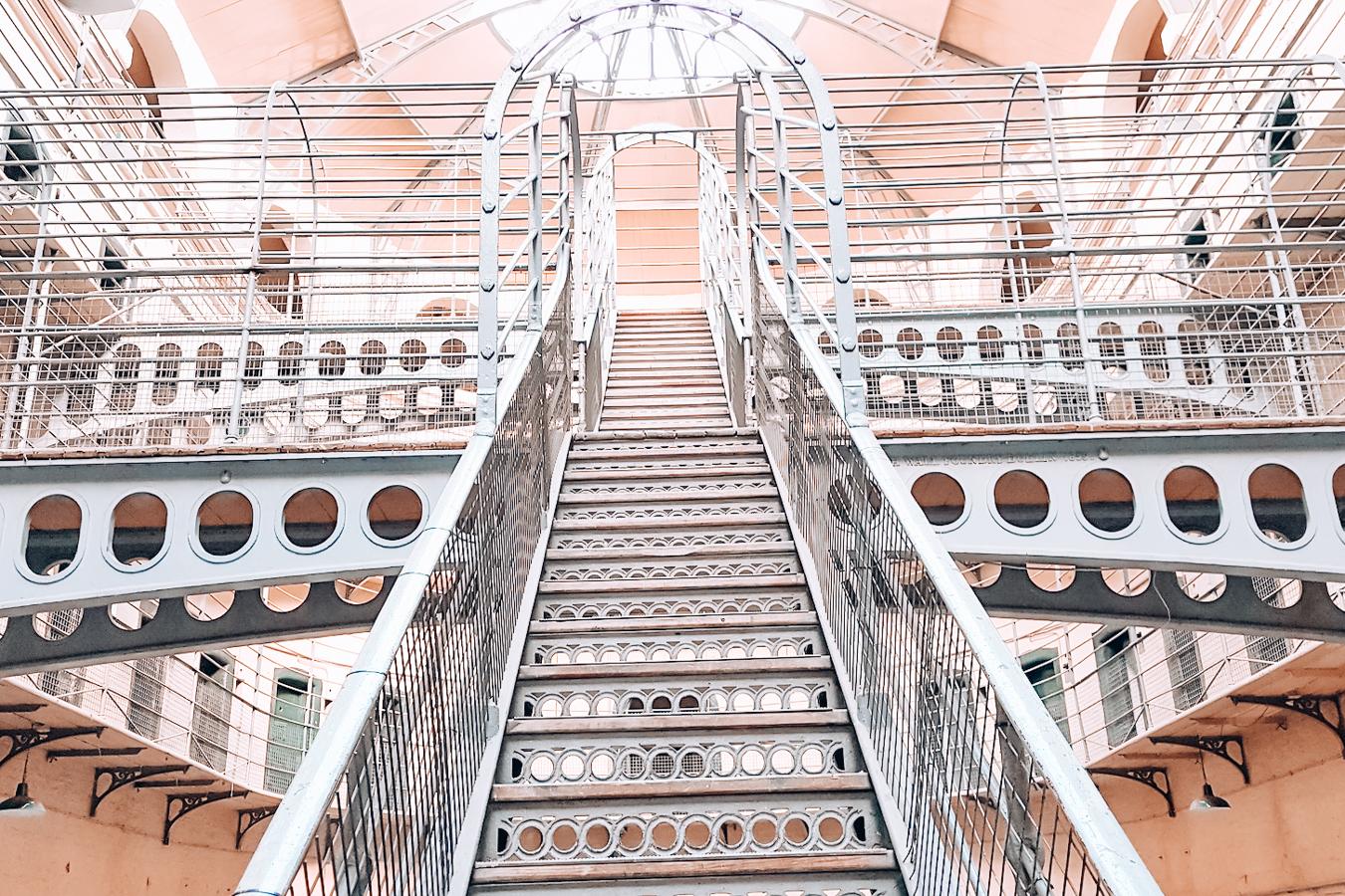 Stairs at Kilmainham Gaol