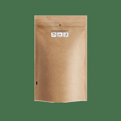 "6.02 x 9.80"" Kraft Child Resistant Bags"