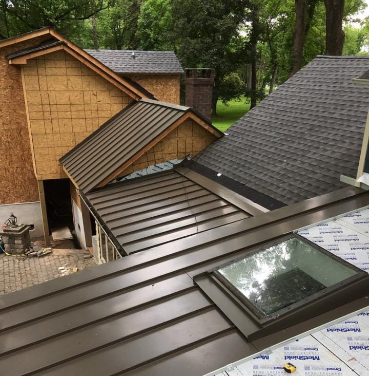 DYMI Metal Roof installing
