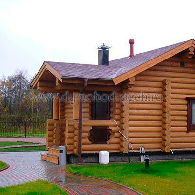 Постройка русской бани на загородном участке