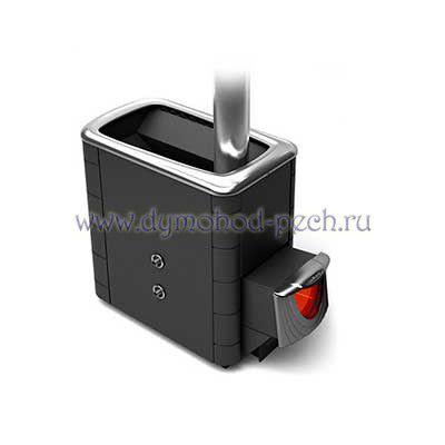 Печь для бани Тунгуска 2013 XXL Inox антрацит с теплообменником