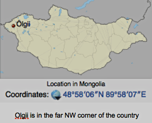 Location of Oglii