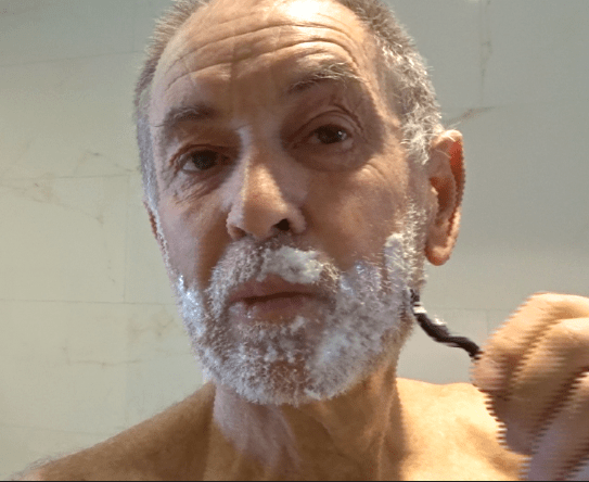 DY shaving; from video