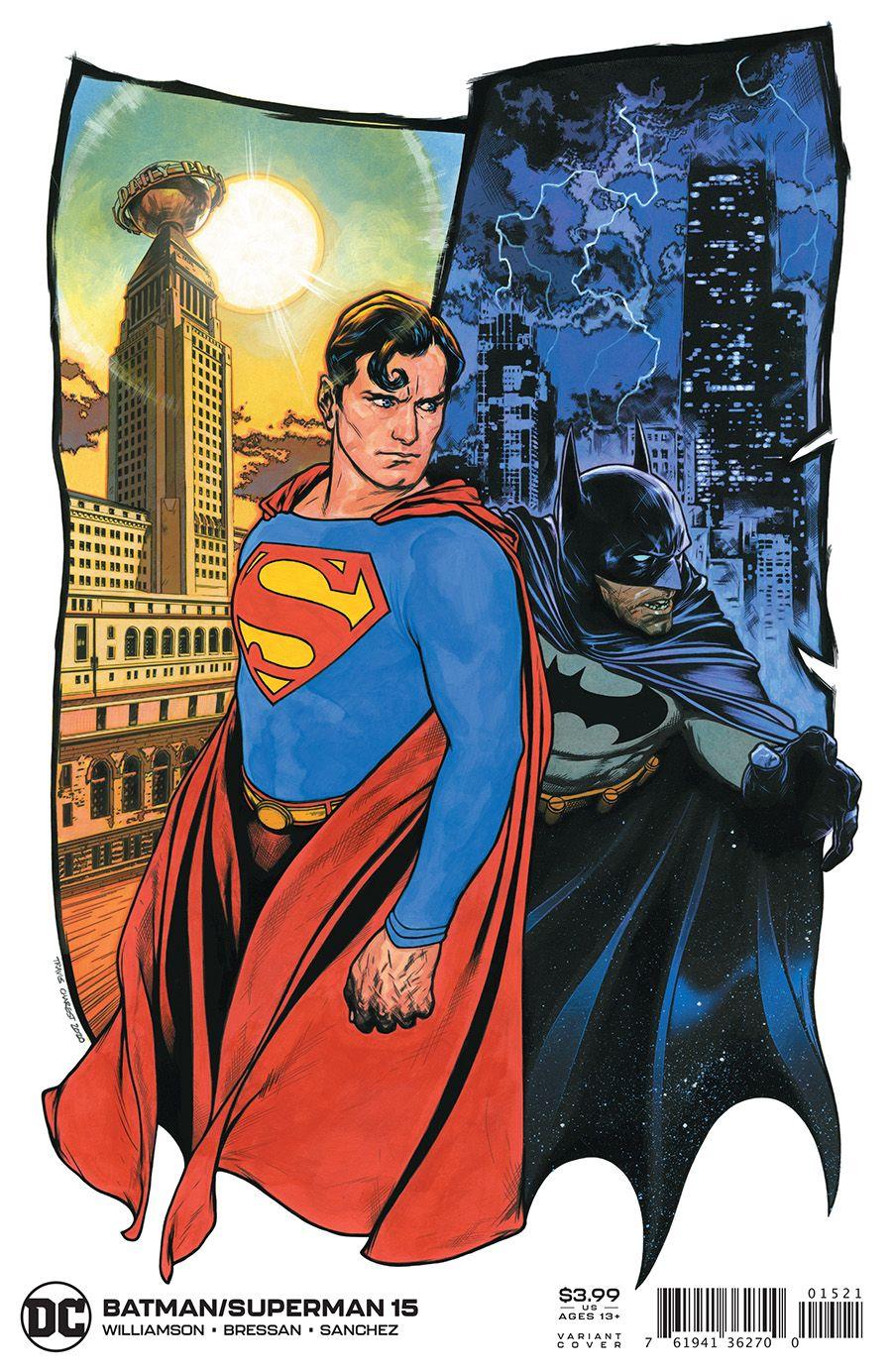 Batman/Superman #15 (Travis Charest Variant) - The Aspiring Kryptonian