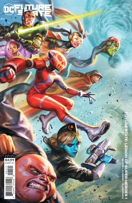 Future State: Legion Of Super Heroes #1 Review - The Aspiring Kryptonian