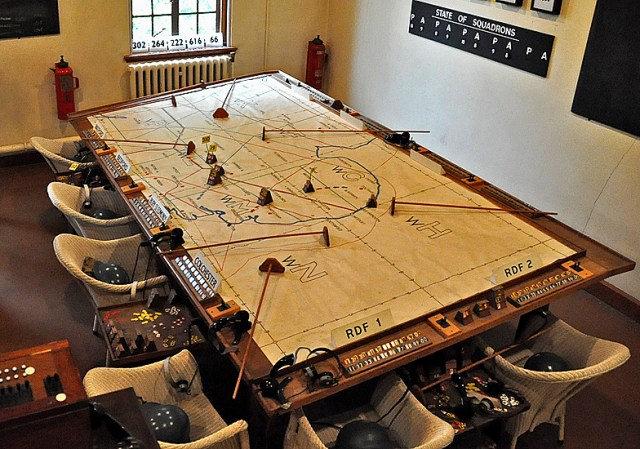 The Slater 'War Room', where the 'magic' happens.