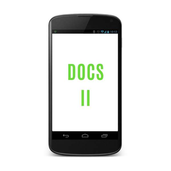 DOCS II Android Field Data Collection Application
