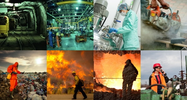 Industries that require Industrial Hygienist