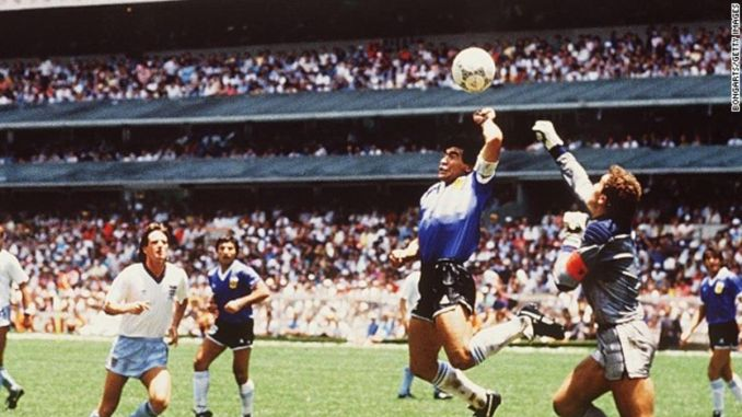 Diego Maradona: How the 'Hand of God' and the 'Goal of the Century'  redefined football - CNN