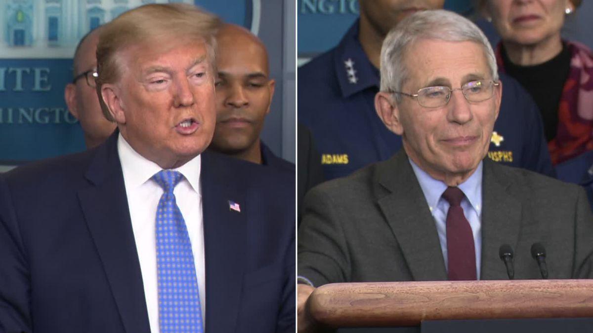 Trump Claims Coronavirus Is Under Control Contradicting Reality