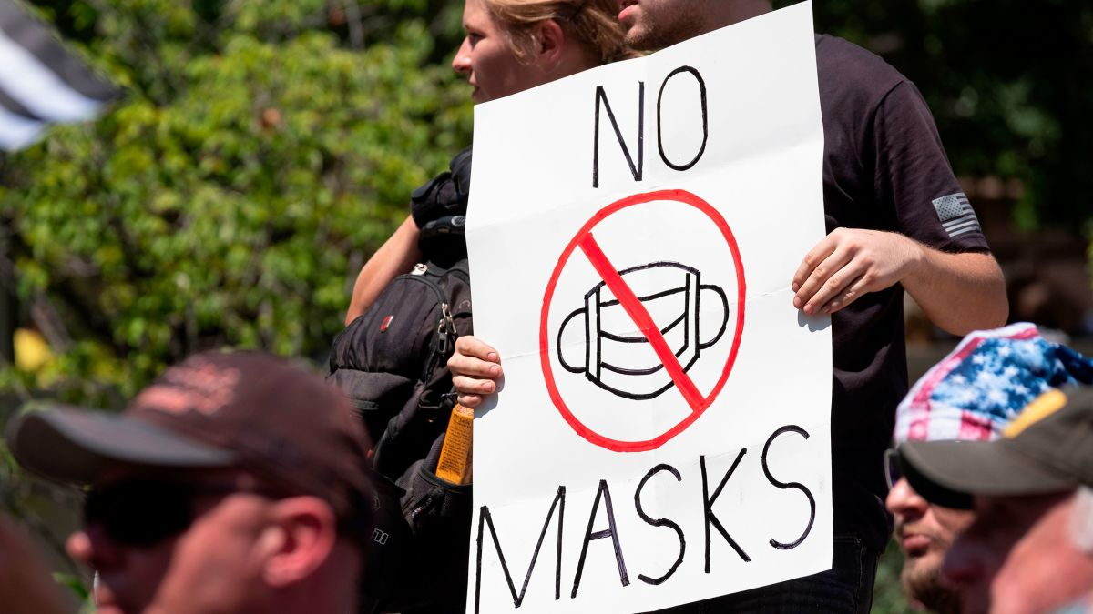 Anti-Mask Protesters Storm SoCal Malls and Markets